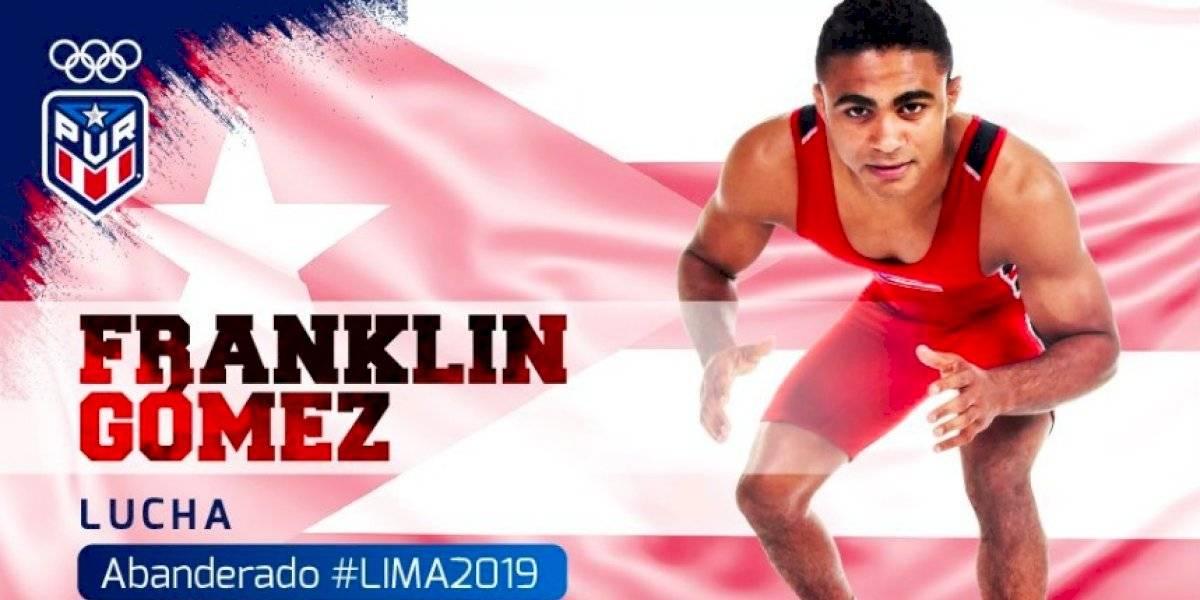 Franklin Gómez será el abanderado de la isla en los Juegos Panamericanos de Lima