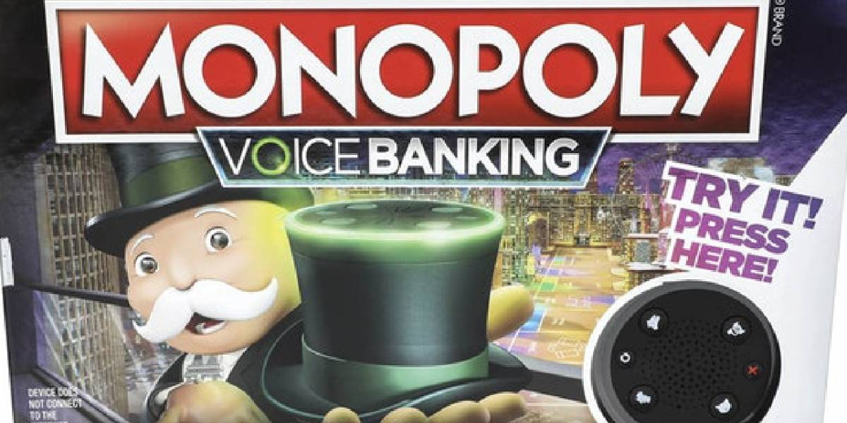 Monopoly ahora se podrá jugar con comandos de voz y sin billetes