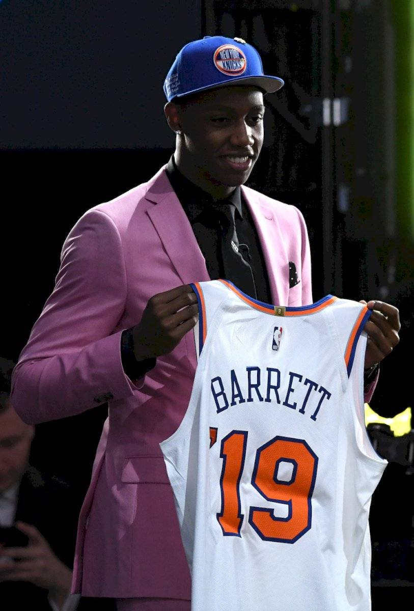 3.- RJ Barrett, Duke New York Knicks / Getty Images