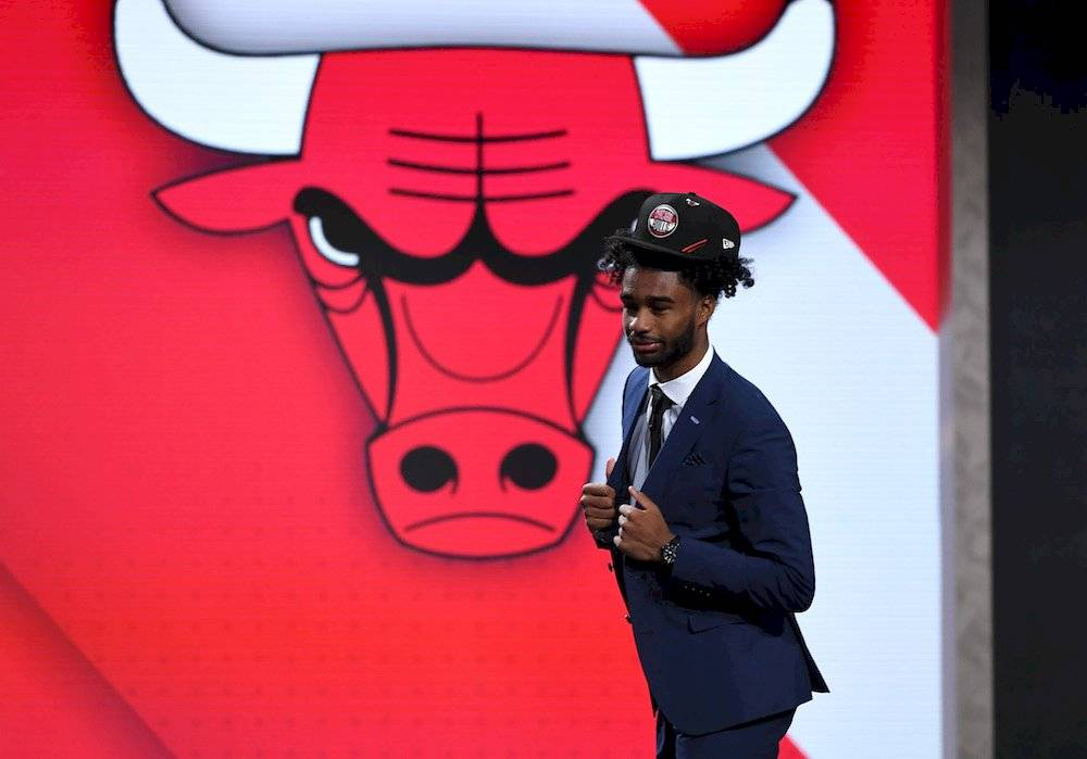 7.- Coby White, North Carolina Chicago Bulls / Getty Images