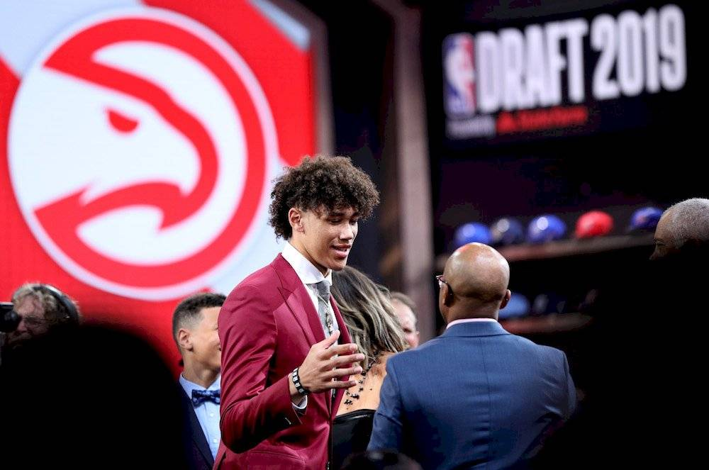 8.- Jaxson Hayes, Texas Atlanta Hawks / Getty Images