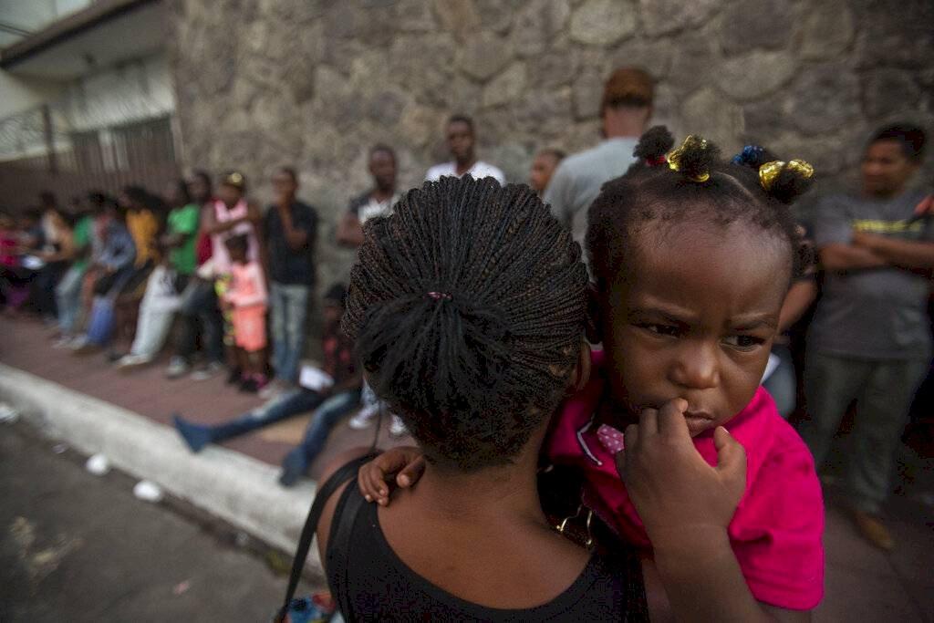 Migrantes salvadoreños en Chiapas Foto: AP