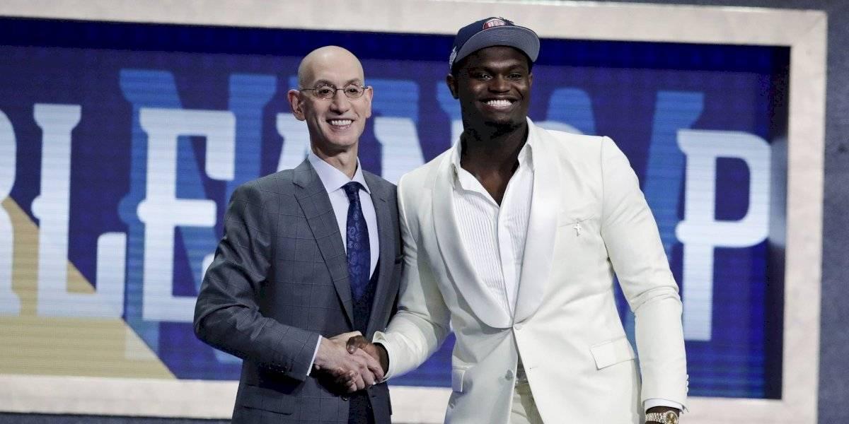 """New Orleans Pelicans eligen a Zion Williamson, el nuevo """"LeBron James"""" como el número 1 del Draft de la NBA"""