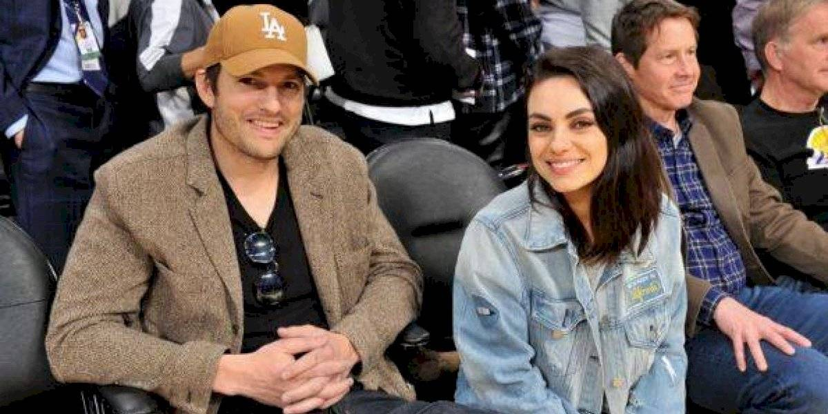 Ashton Kutcher y Mila Kunis negaron los rumores de divorcio con un divertido video