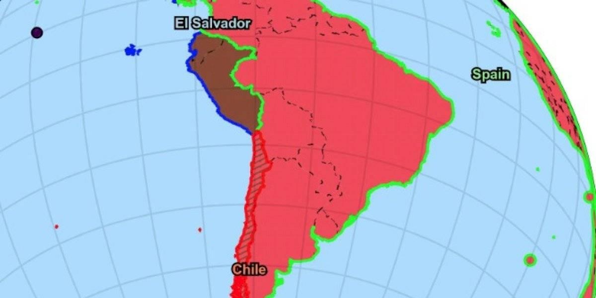 España aniquila a Chile, a toda Sudamérica y está a un paso de conquistar el planeta en la Guerra Mundial que es fenómeno viral