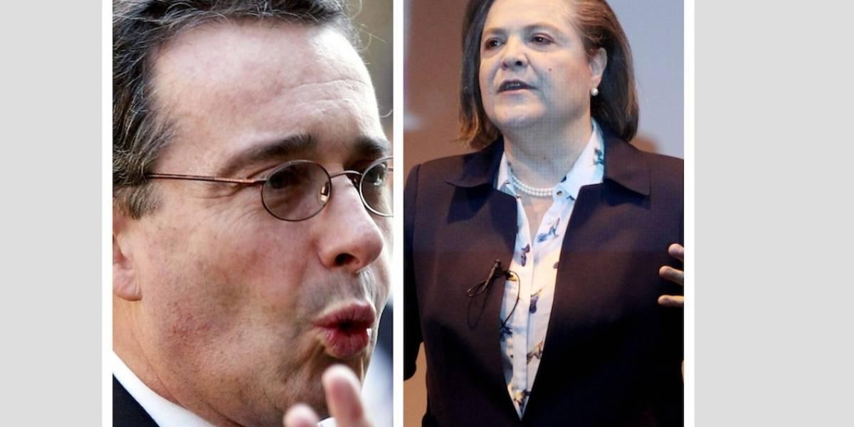 VIDEO: así contestó Álvaro Uribe cuando le preguntaron sobre el noviazgo con Clara López