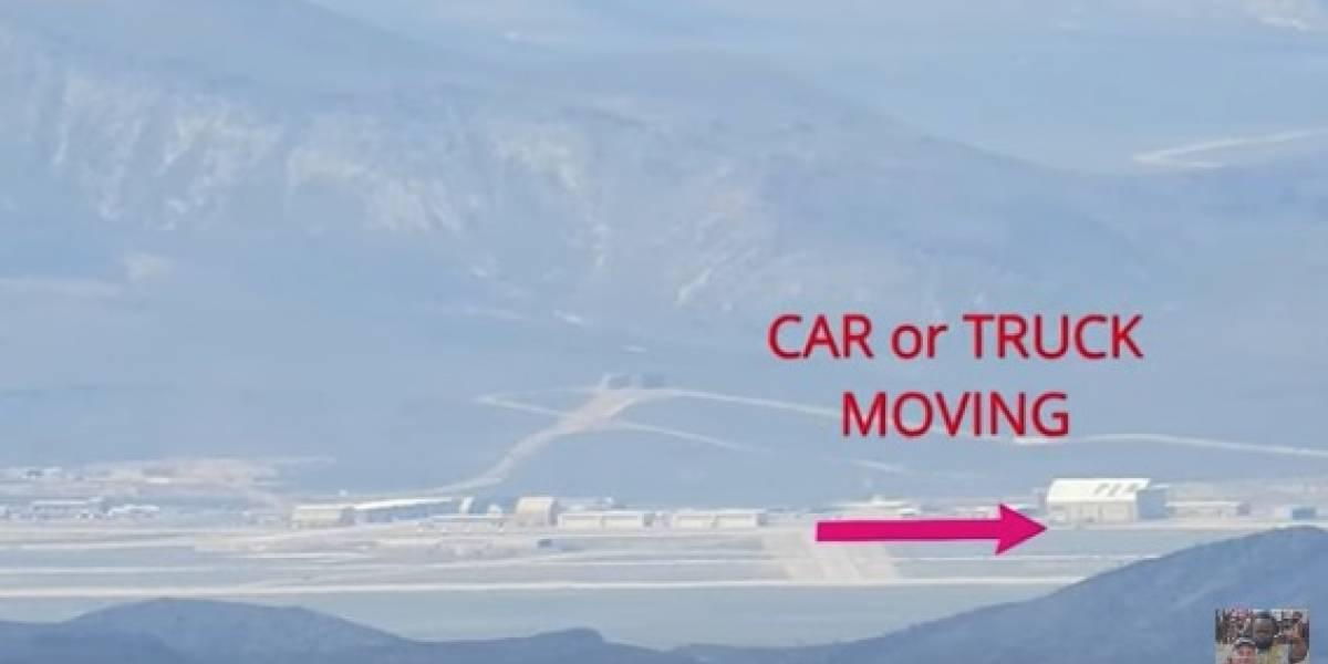 Usuario de YouTube graba y difunde imágenes inéditas de la misteriosa Área 51