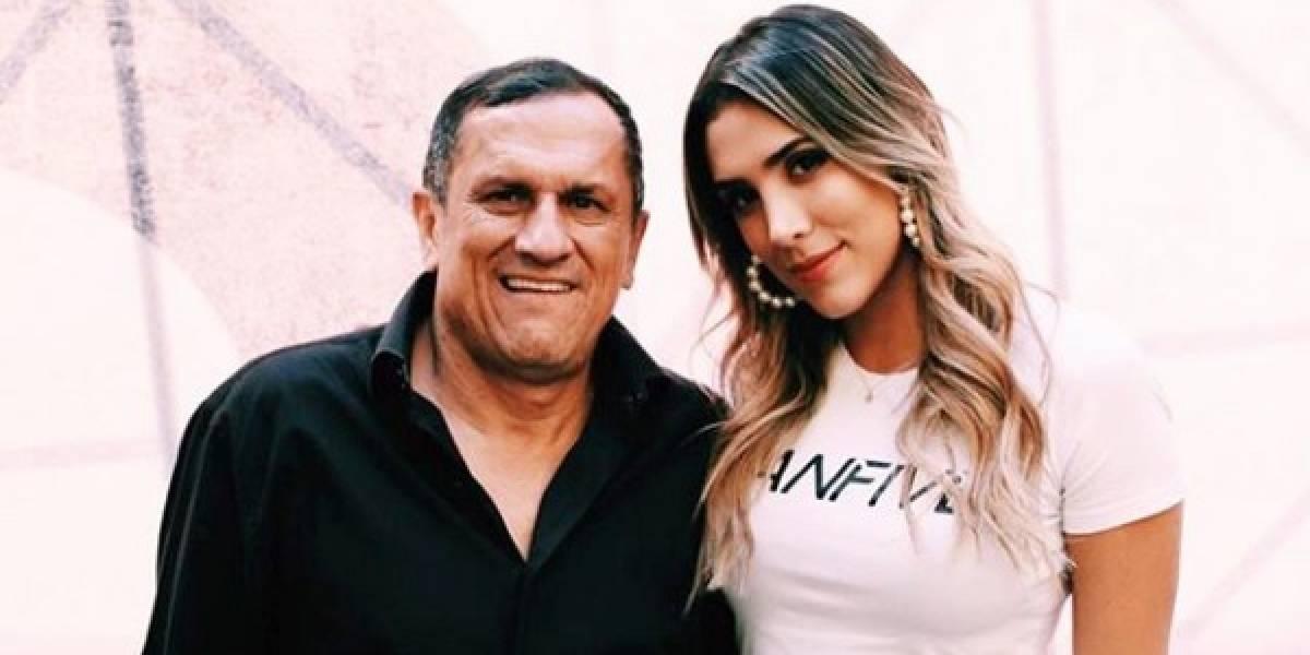 Daniela Ospina vuelve a conmover por publicación en la que se refiere a su padre enfermo