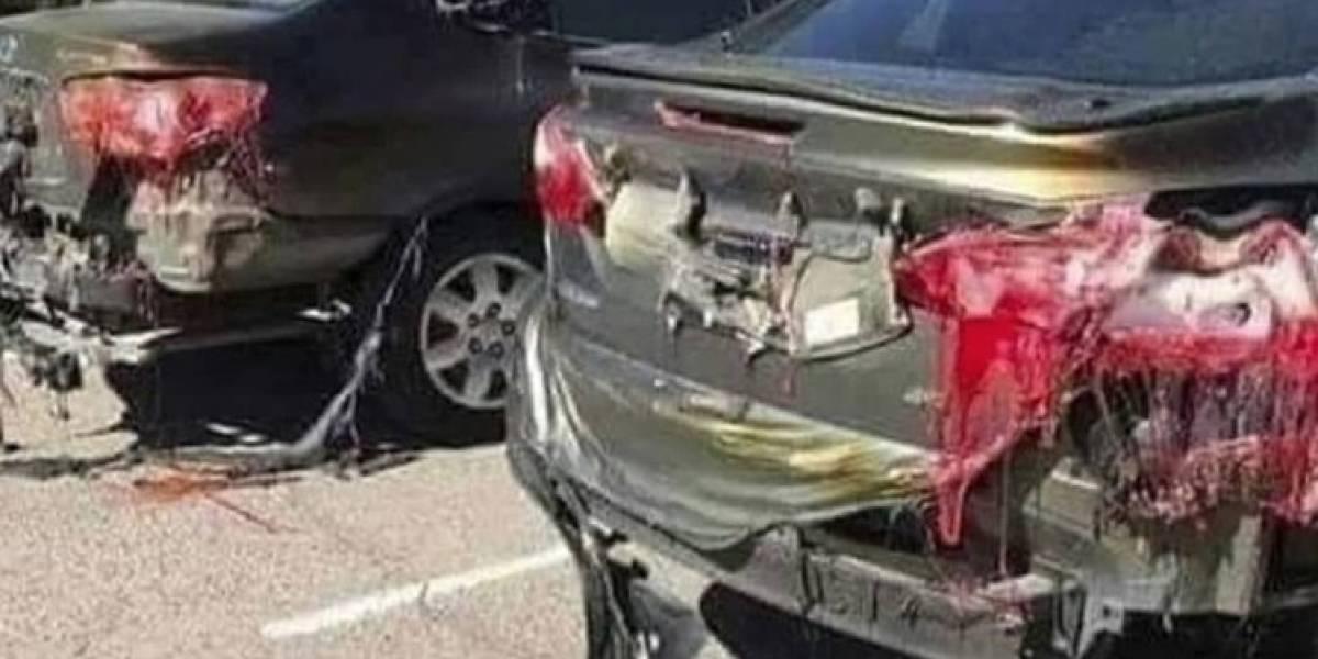 Autos derretidos en las calles sorprendieron en redes sociales: ¿es verdad que Kuwait registró la temperatura más alta sobre la faz de la Tierra?