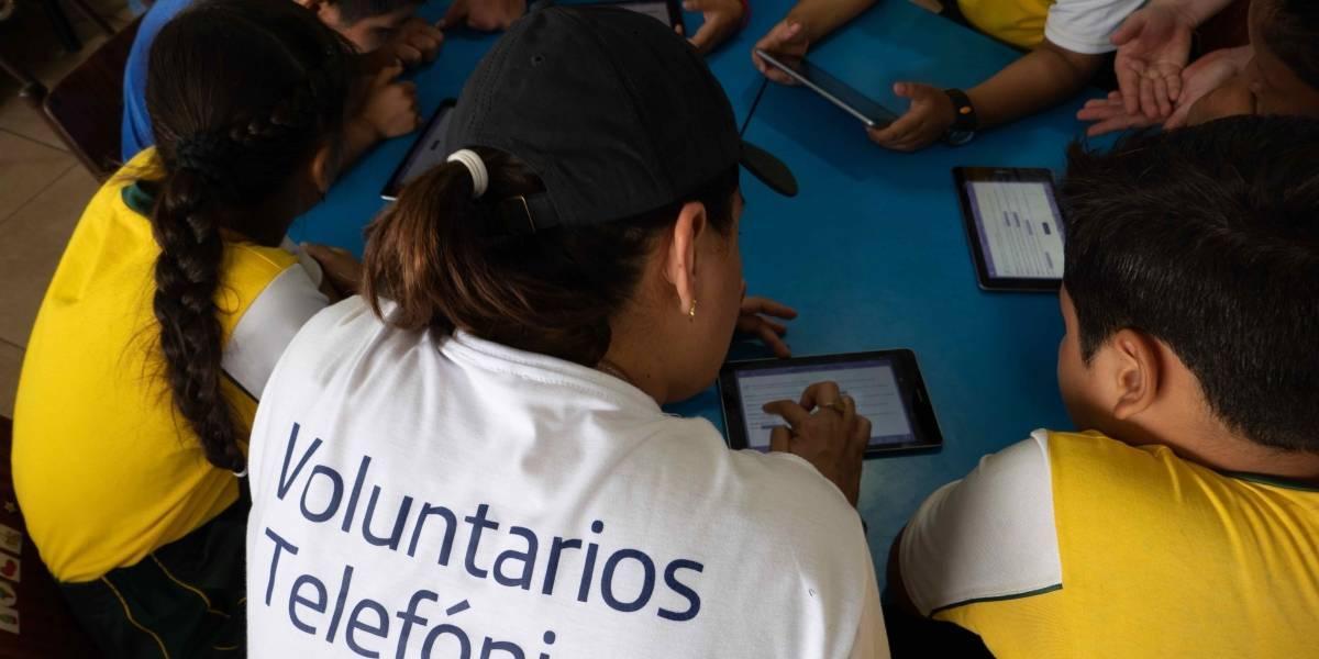 Fundación Telefónica Ecuador: La misión es ser más humanos gracias a la tecnología