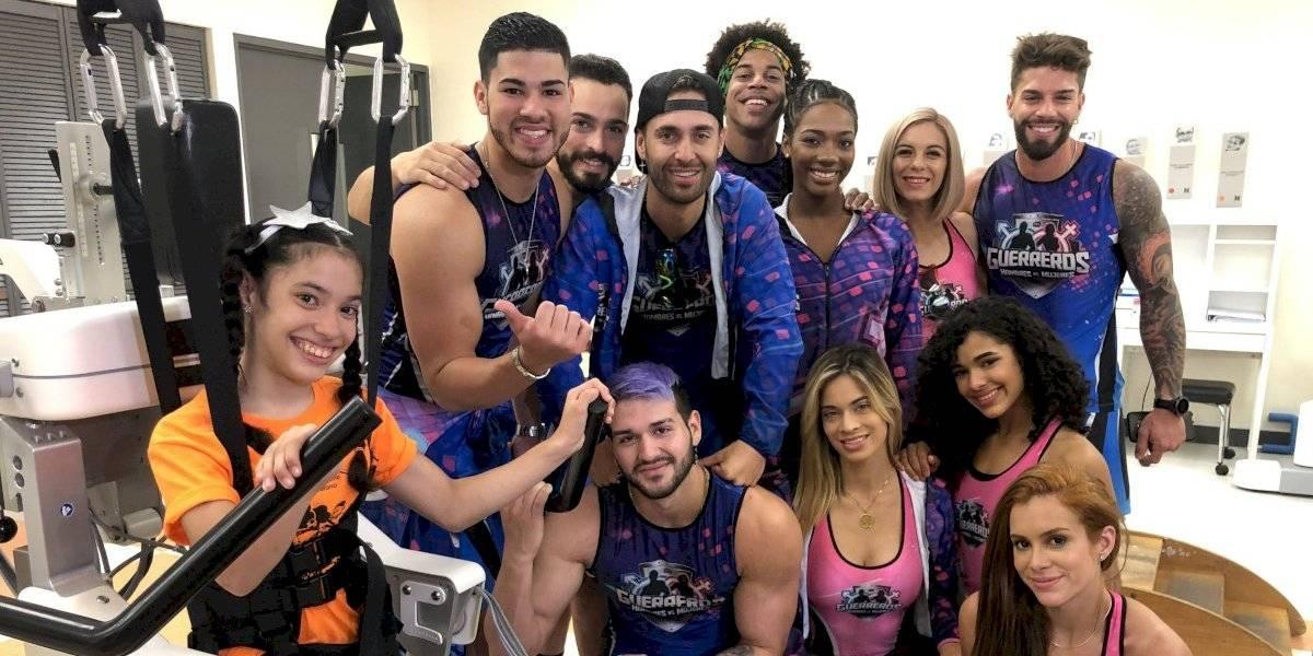 Participantes de Guerreros llegaron a SER de Puerto Rico