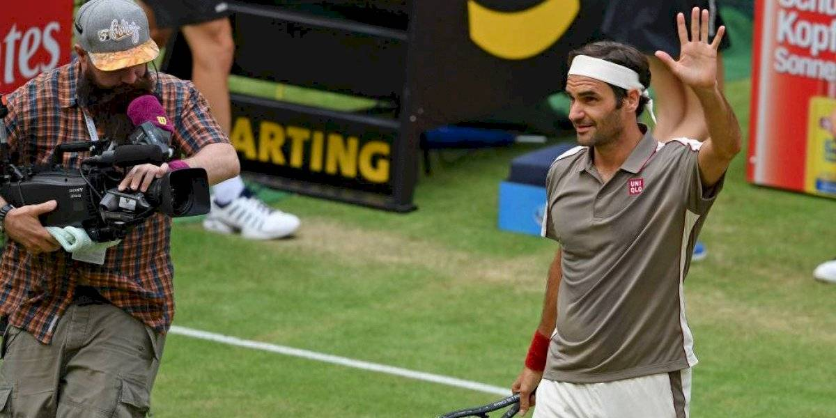 Federer jugará su final N° 13 en el ATP 500 de Halle