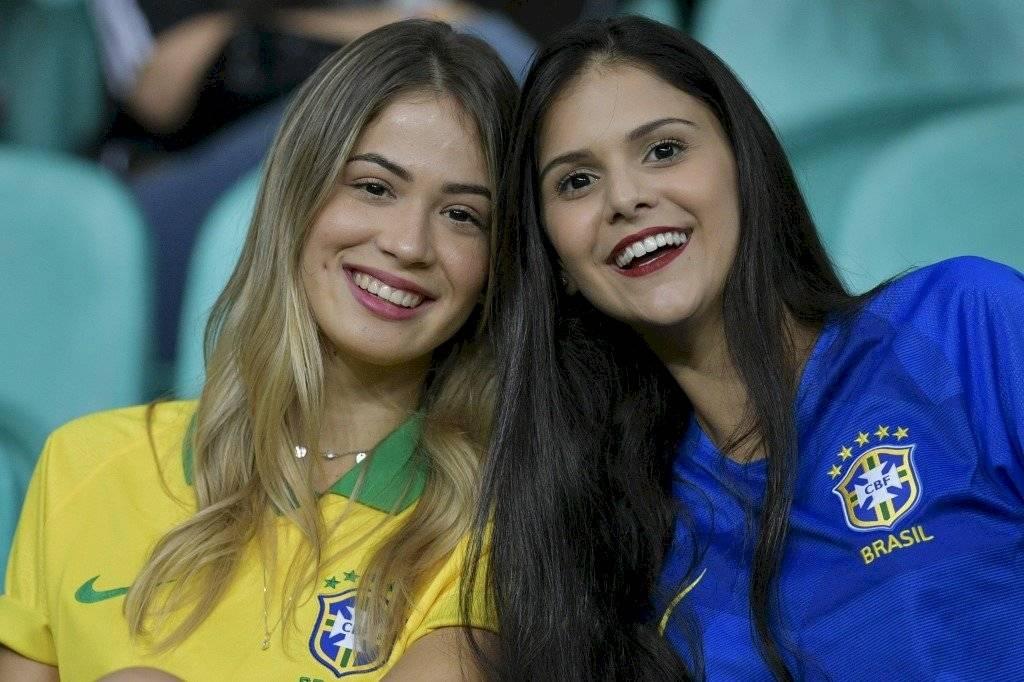 Bellas mujeres en Copa América
