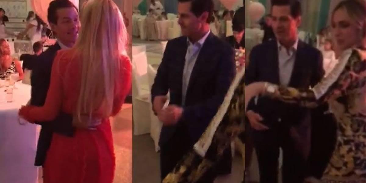 ¿Quién es la mujer que baila con Enrique Peña Nieto?