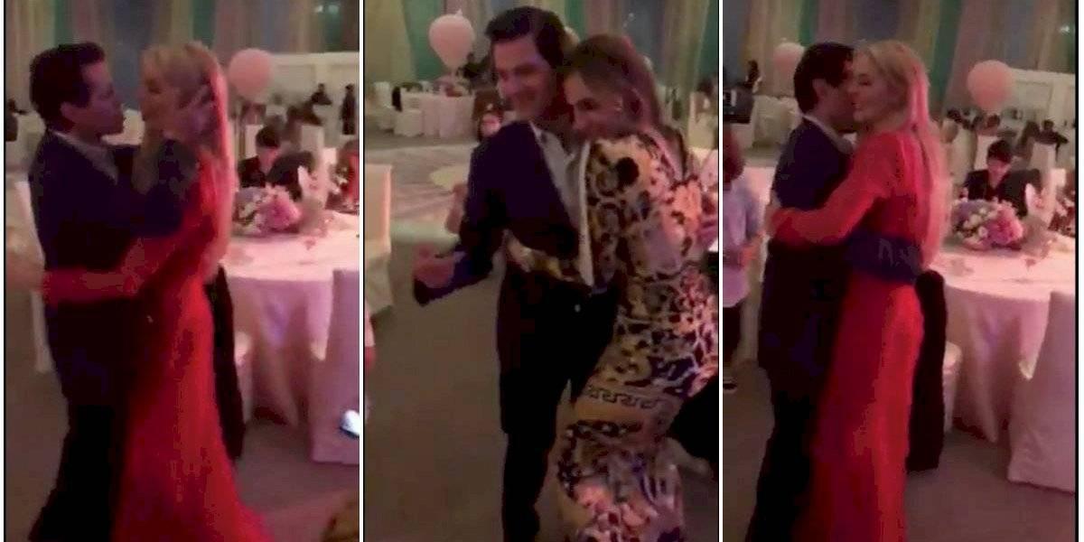 Así baila Peña Nieto al ritmo de los Ángeles Azules