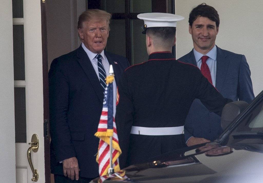 Visita de Justin Trudeau a la Casa Blanca