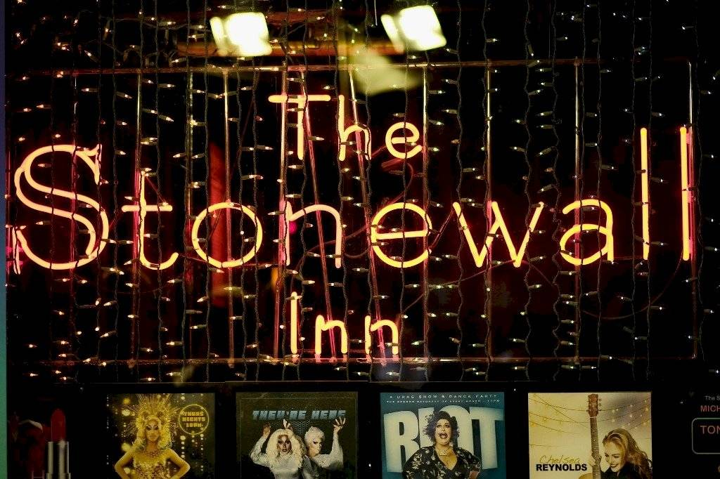 Stonewall Inn vitrina