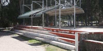 Canchas del parque Equinoccial