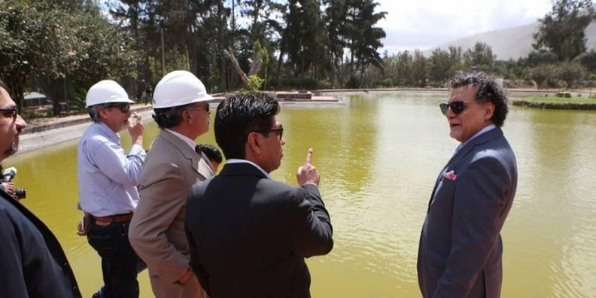Jorge Yunda planea hacer un parque acuático en la Mitad del Mundo