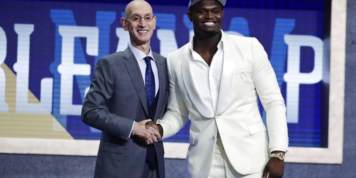 Sin mucha sorpresa los New Orleans Pelicans escogen a Zion en el NBA Draft