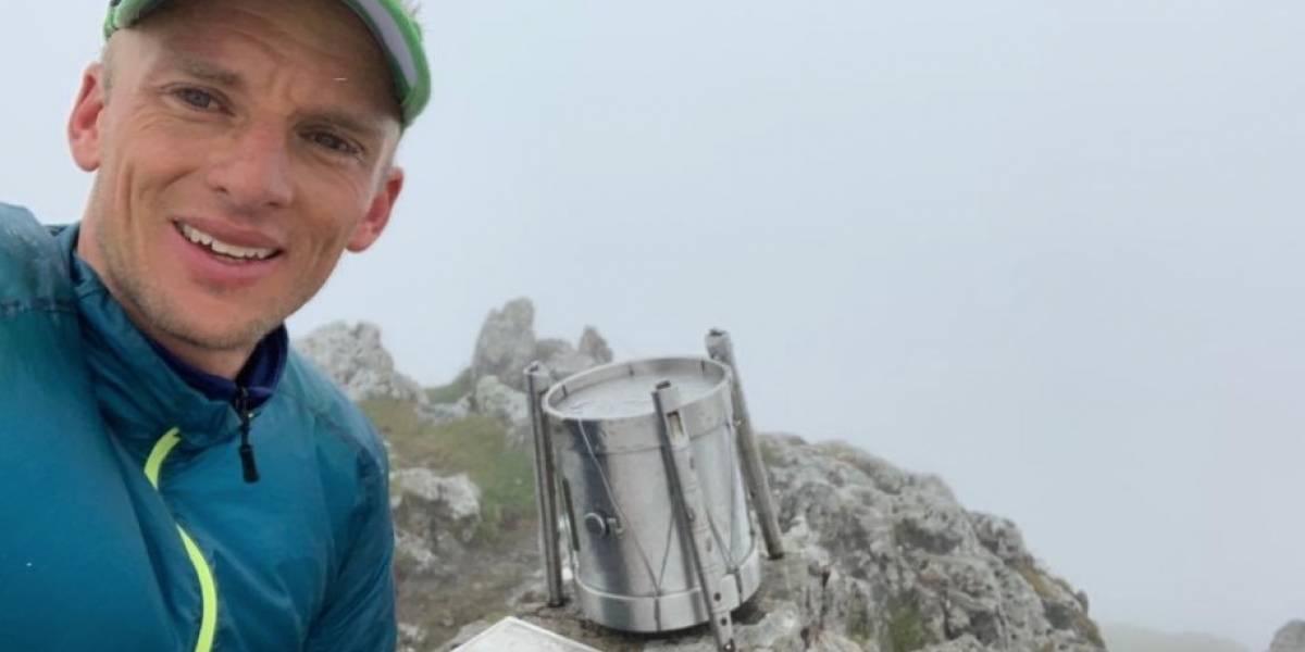 Montañista ecuatoriano Karl Egloff bate récord mundial en cordillera de Alaska