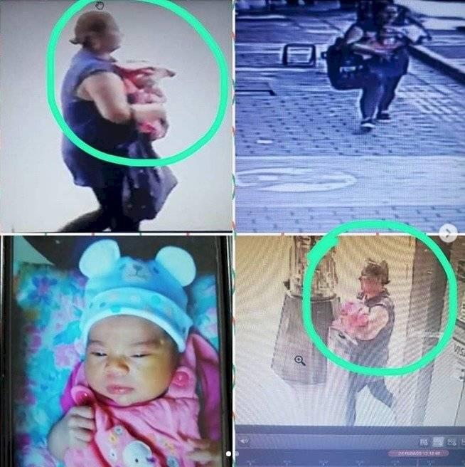 Roban bebé de una pareja dentro de centro comercial en Colombia
