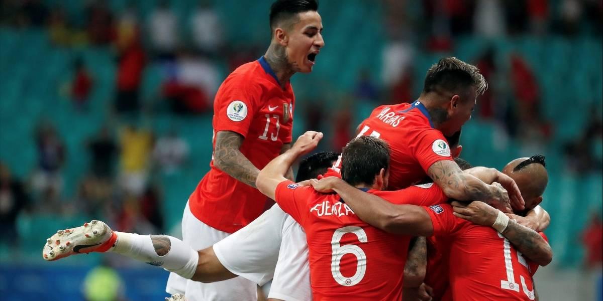 ¡A toda Rueda! Una frenética Chile venció a Ecuador y está en cuartos de final (2-1)
