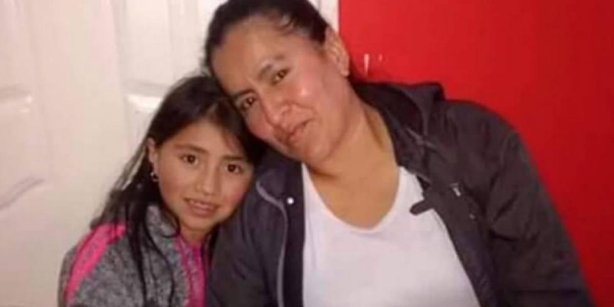 Escabroso asesinato de madre comunitaria y su hija de 7 años