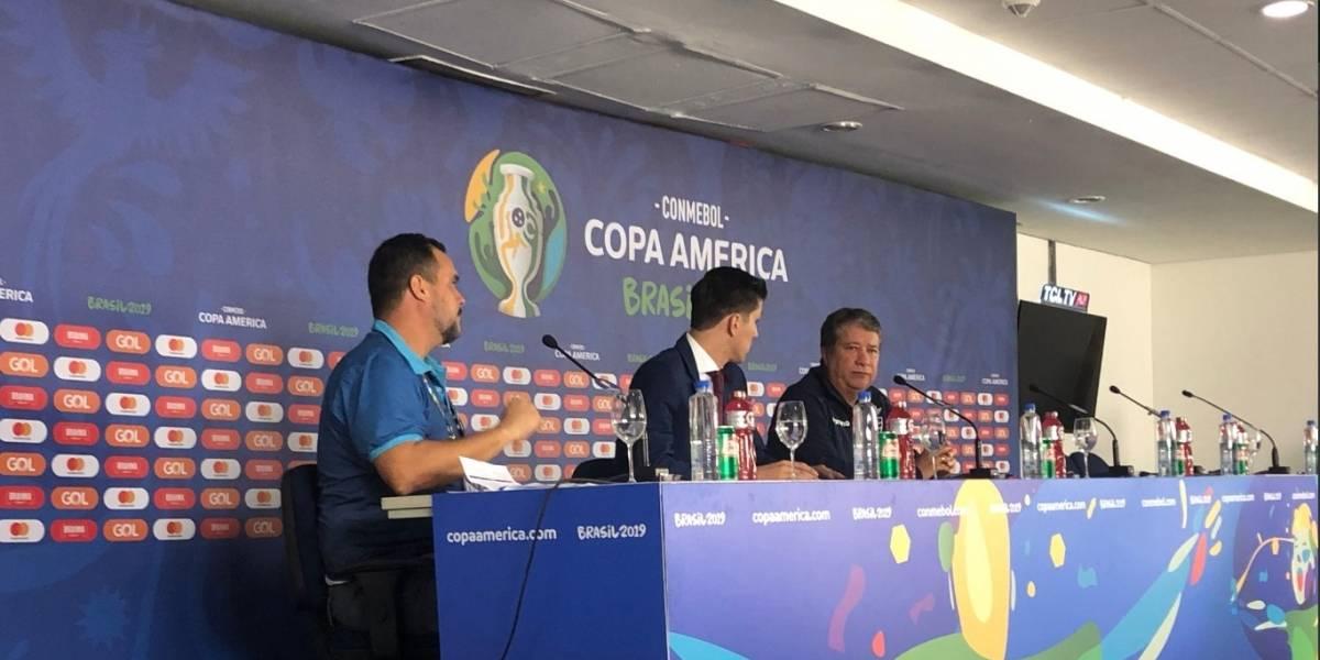 'Bolillo' Gómez no quiso dar declaraciones en la rueda de prensa tras perder ante Chile