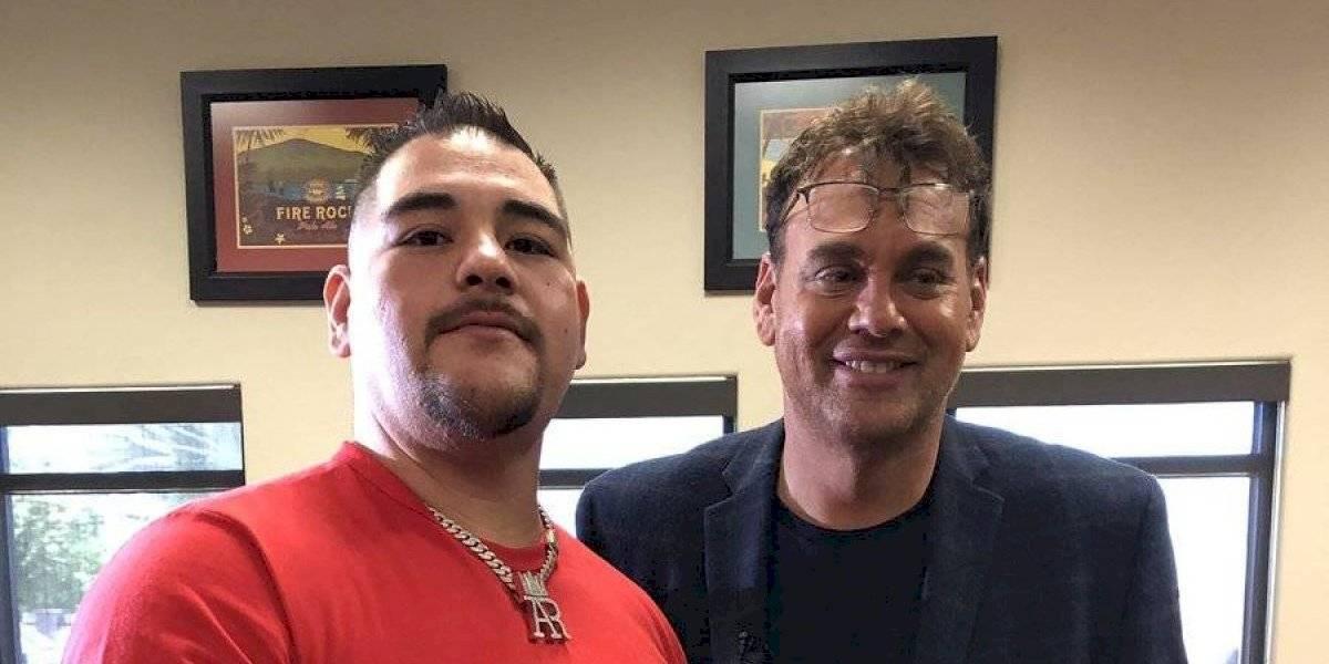 Faitelson amenaza a Cuauhtémoc Blanco con foto junto a Andy Ruiz