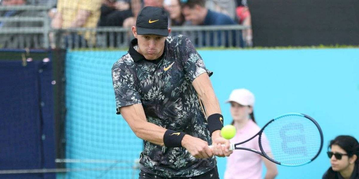 Nicolás Jarry tendrá un duro rival en el ATP 250 de Eastbourne