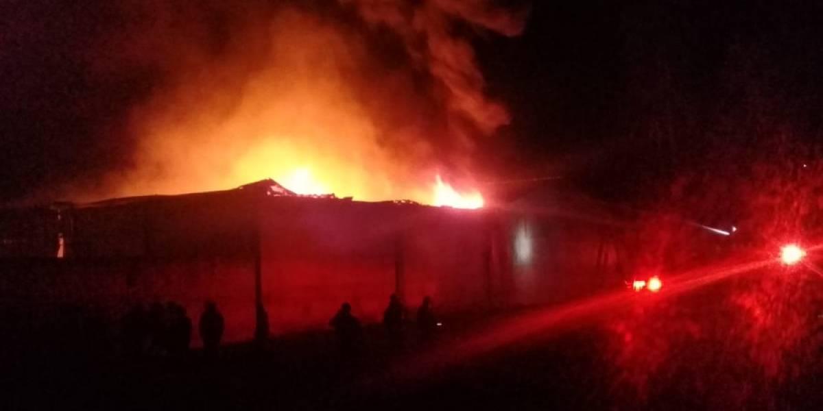 Incendio en fábrica en Chimaltenango deja más de Q1 millón en pérdidas