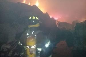 incendio en fábrica de Chimaltenango