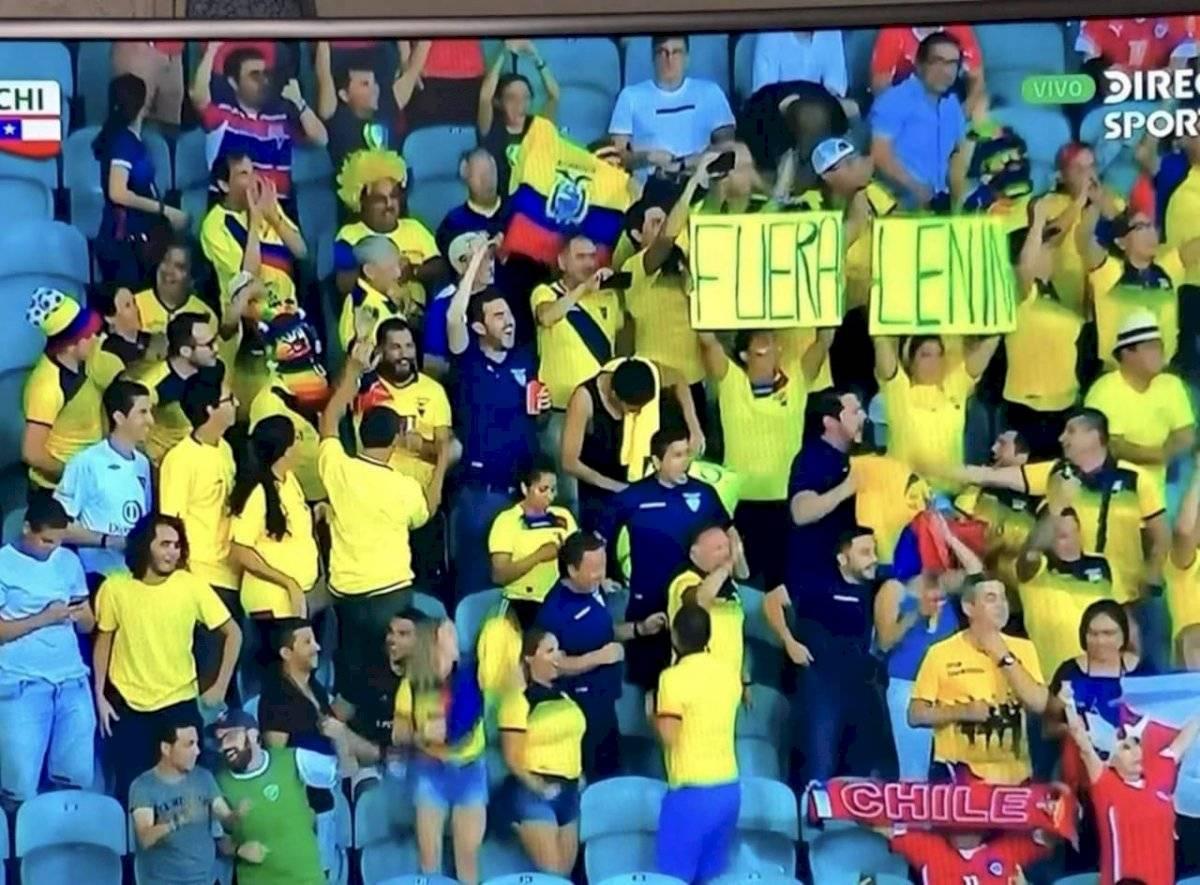 Partido de Ecuador vs Chile