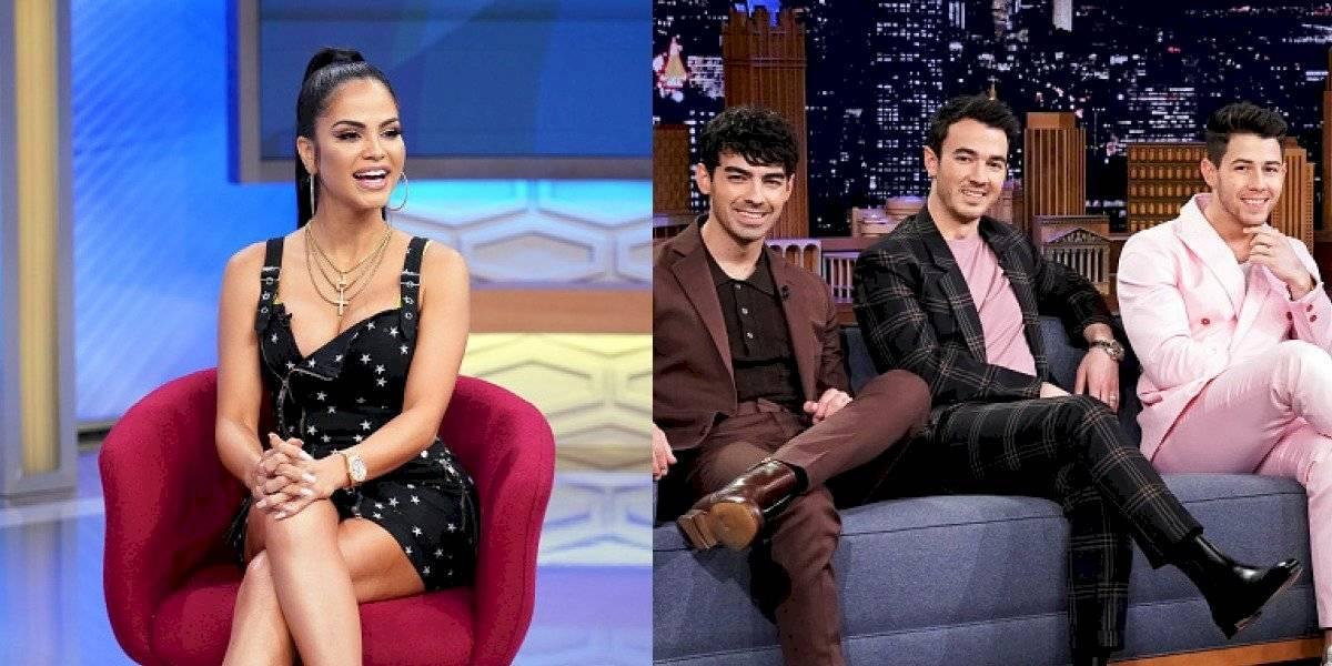 """Runaway: El """"mensajito"""" que envío Natti Natasha a los Jonas Brothers"""