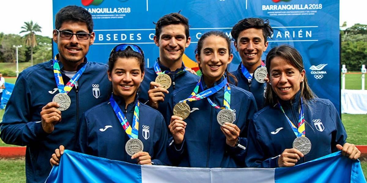 Pentatletas guatemaltecos se preparan para los Juegos Panamericanos Lima 2019