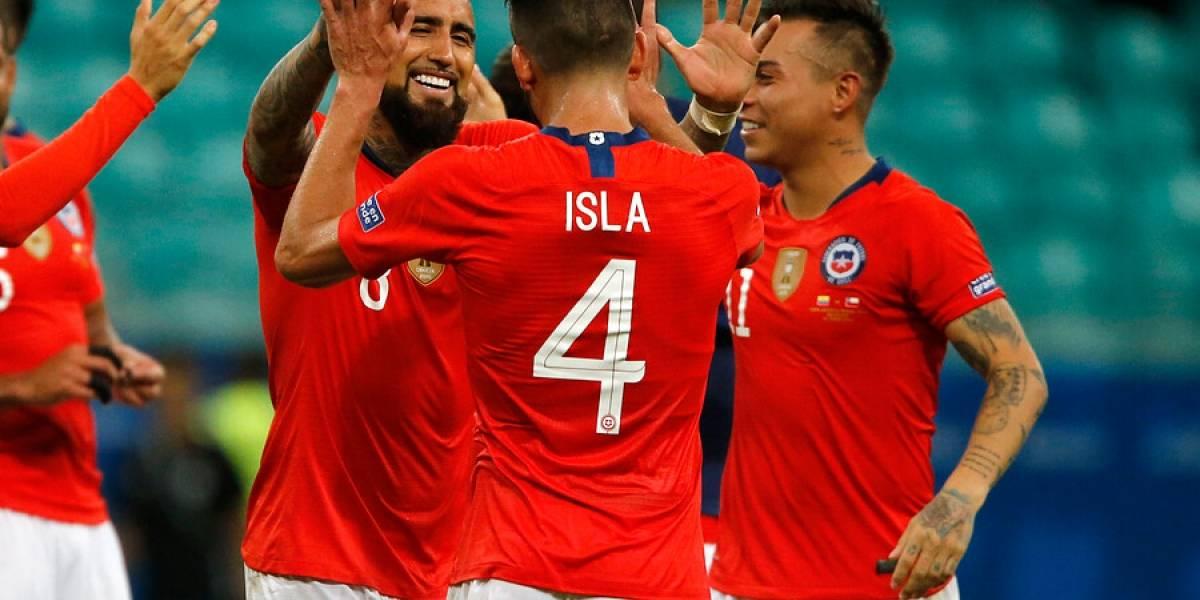 Ya es costumbre: Chile llegó a cuartos de final de la Copa América en siete de las últimas ocho ediciones