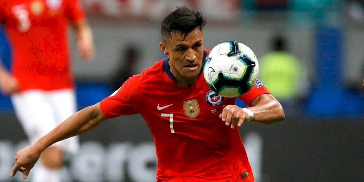 """El histórico Alexis Sánchez contó que hizo su gol lesionado: """"Tengo un esguince y espero que no sea tan grave"""""""
