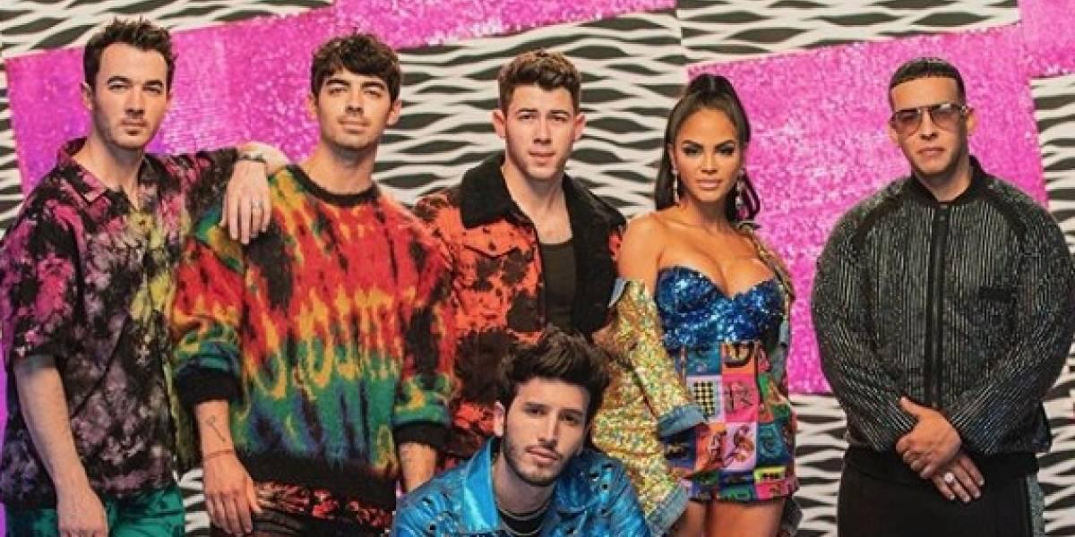 Sebastián Yatra, Natti Natasha y Daddy Yankee la pegan con los Jonas Brothers