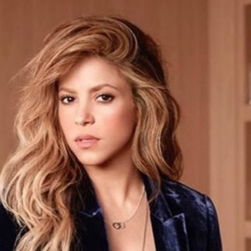 491117ccd2b8 El video inédito de Shakira cantando y bailando árabe a sus 11 años ...