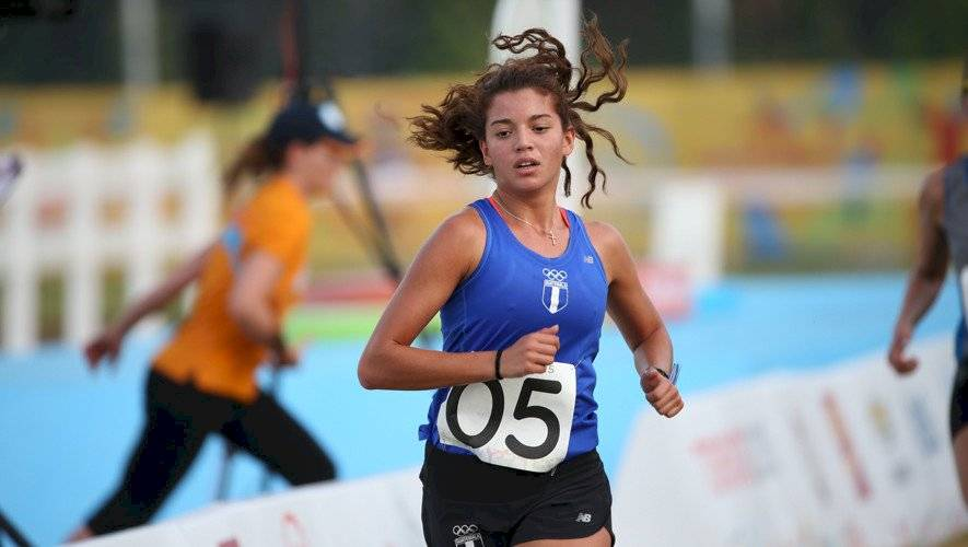 Sophia Hernández Comité Olímpico Guatemalteco