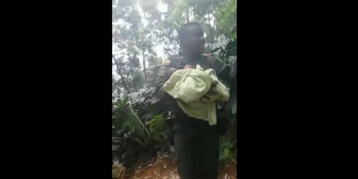 Video del rescate de la bebé de 17 días de nacida que fue robada a sus padres en un centro comercial
