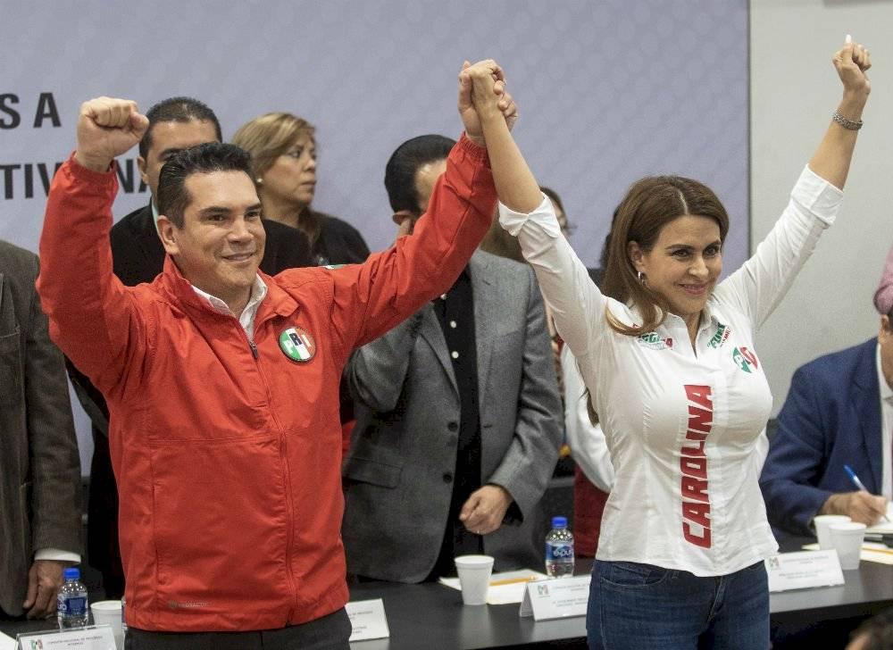 Alejandro Moreno Cárdenas y Carolina Viggiano Austria