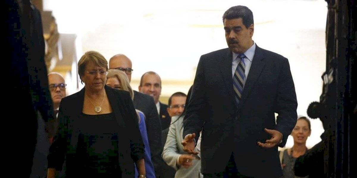 Bachelet pide liberar a todos los presos políticos tras finalizar su visita a Venezuela