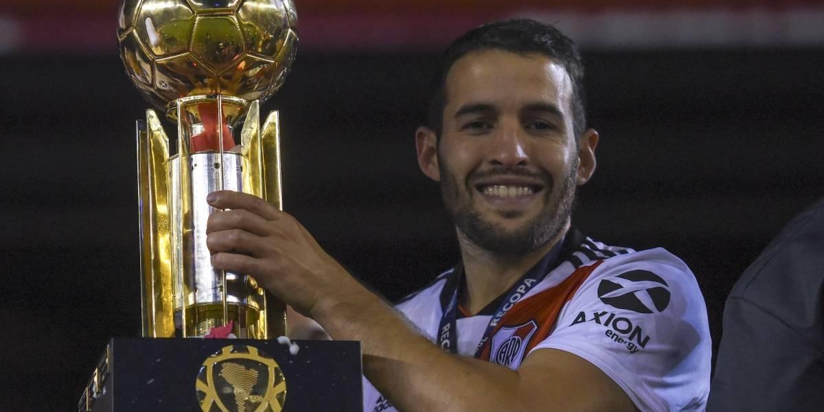 Ex jugador de River llega a México con el San Luis