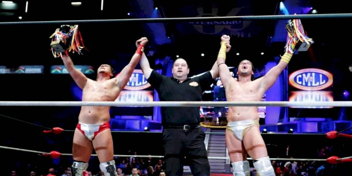 Los Chávez sacan la casta y se coronan en la Copa Dinastías del CMLL