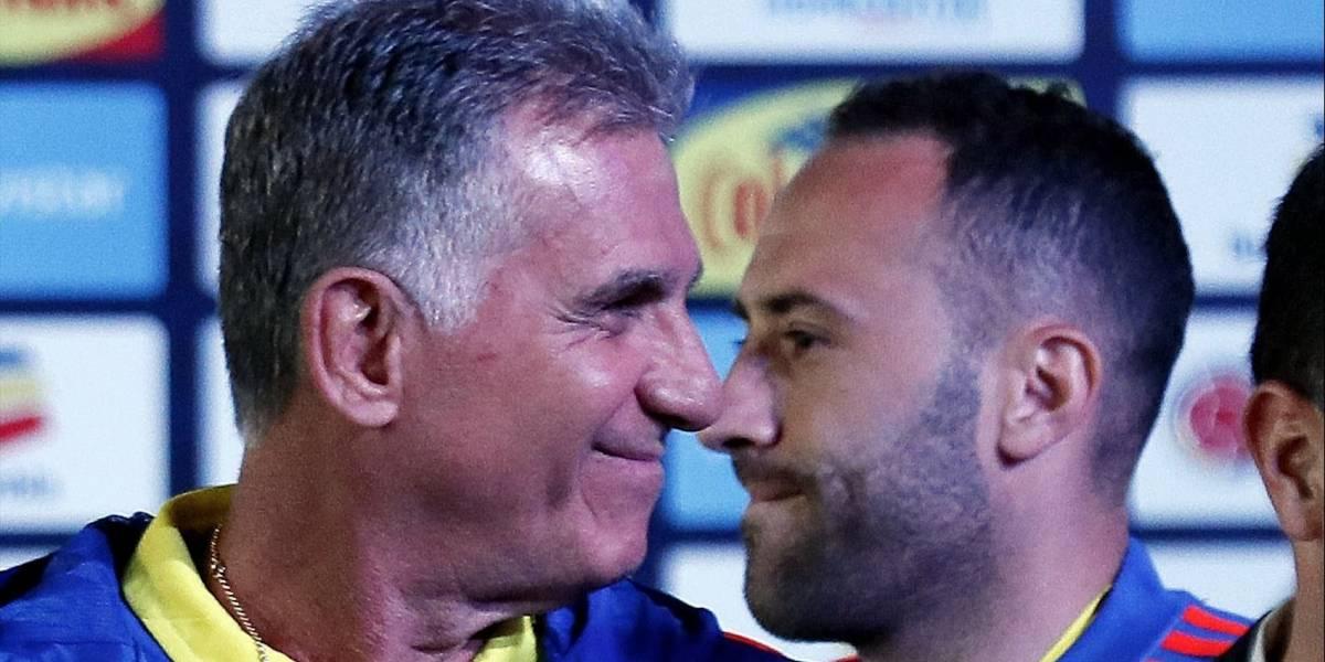 El emotivo mensaje de Carlos Queiroz para David Ospina por su difícil momento familiar