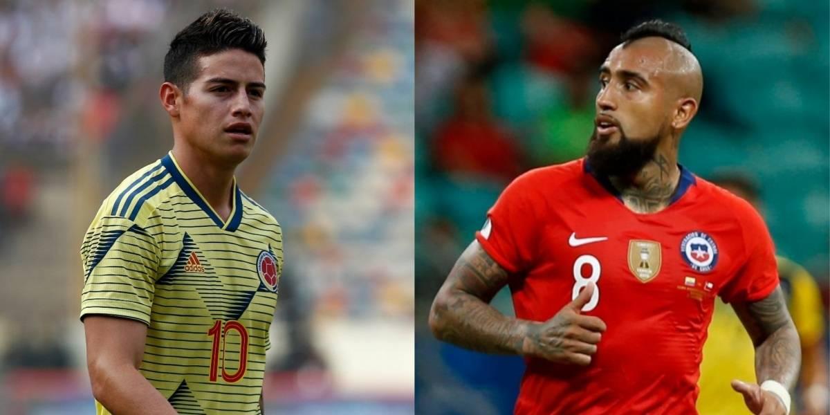 كولومبيا وتشيلي بث مباشر