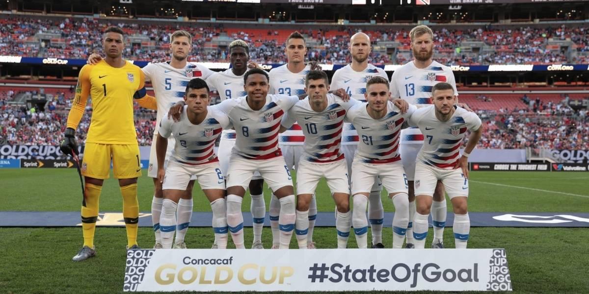 EU avanza a cuartos en Copa Oro tras golear a Trinidad y Tobago
