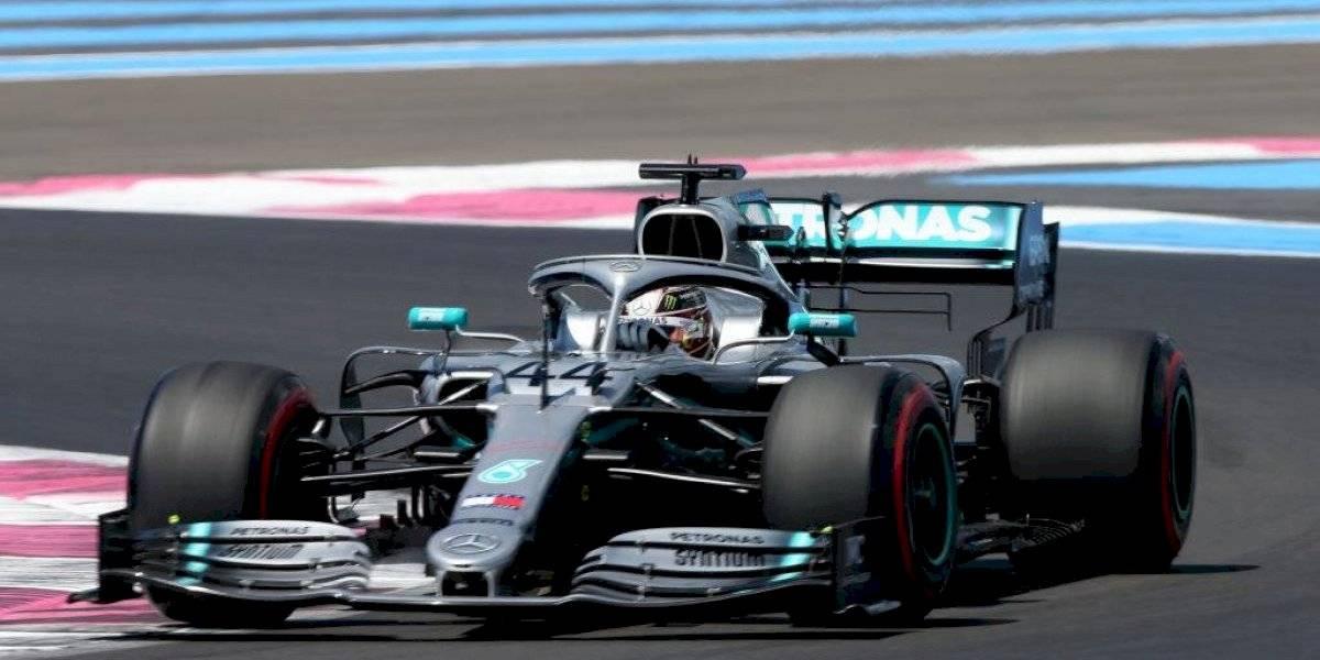 Lewis Hamilton sigue imparable y se llevó la pole del Gran Premio de Francia